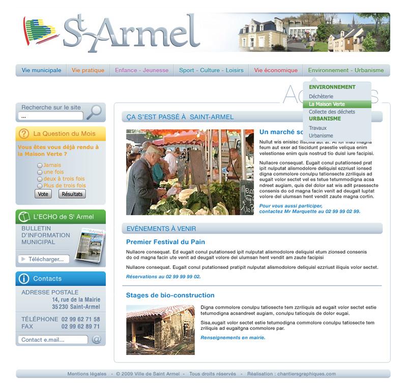 Mairie de Saint-Armel